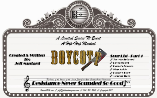 """Boycott"" Audition Marquée for ""Boycott: A 1902 NYC Hip-Hop Musical"""