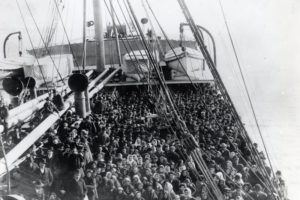 Immigrants on Boat