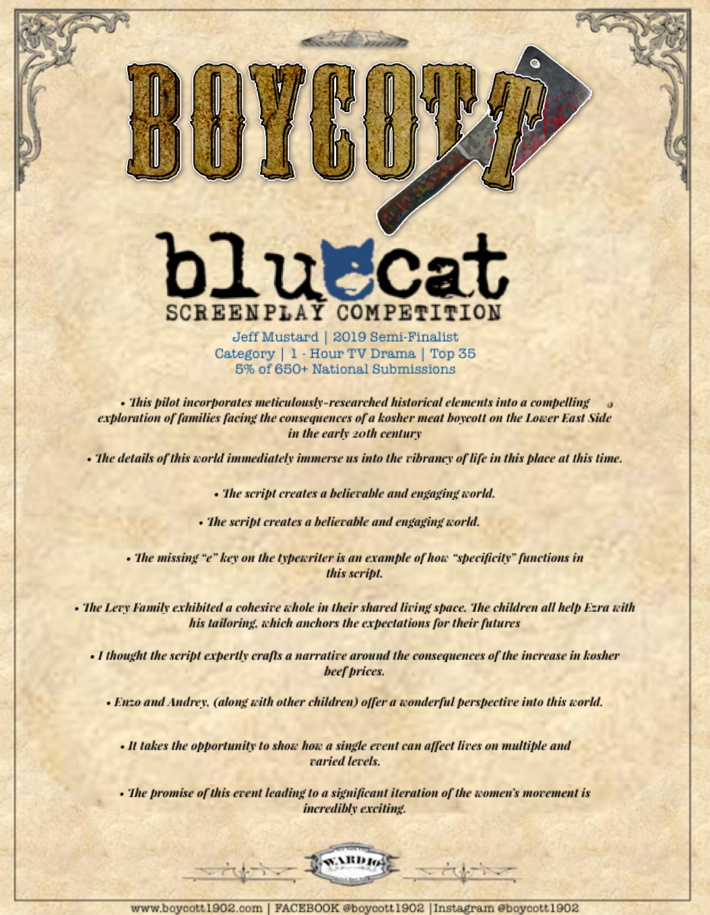 Blue Cat Coverage