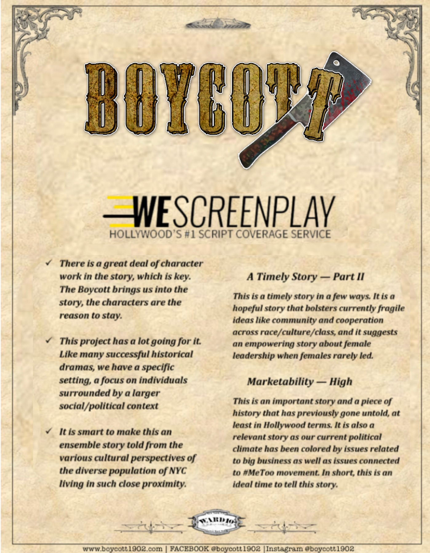 WeScreenPlay Coverage