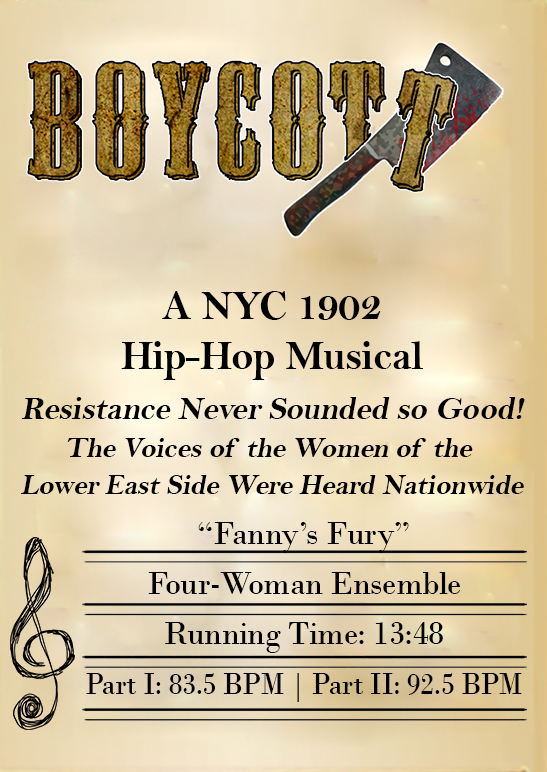 Fannys Fury Music Stand Left Graphic