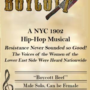 Boycott Beef - Music Stand - Left